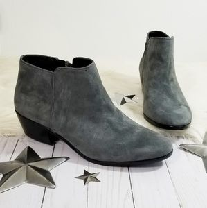 Sam Edelman Petty ankle boots dark gray suede 9.5